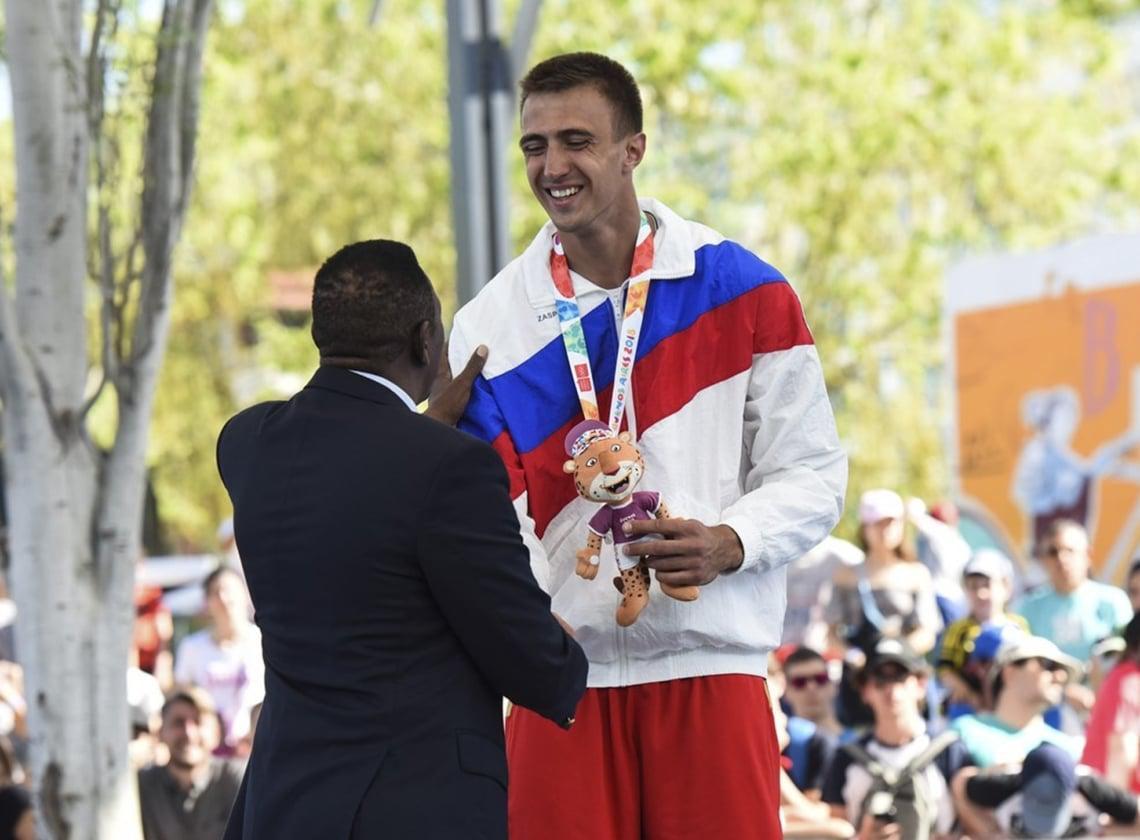 Никита Ремизов – серебряный призер Олимпиады в Буэнос-Айресе