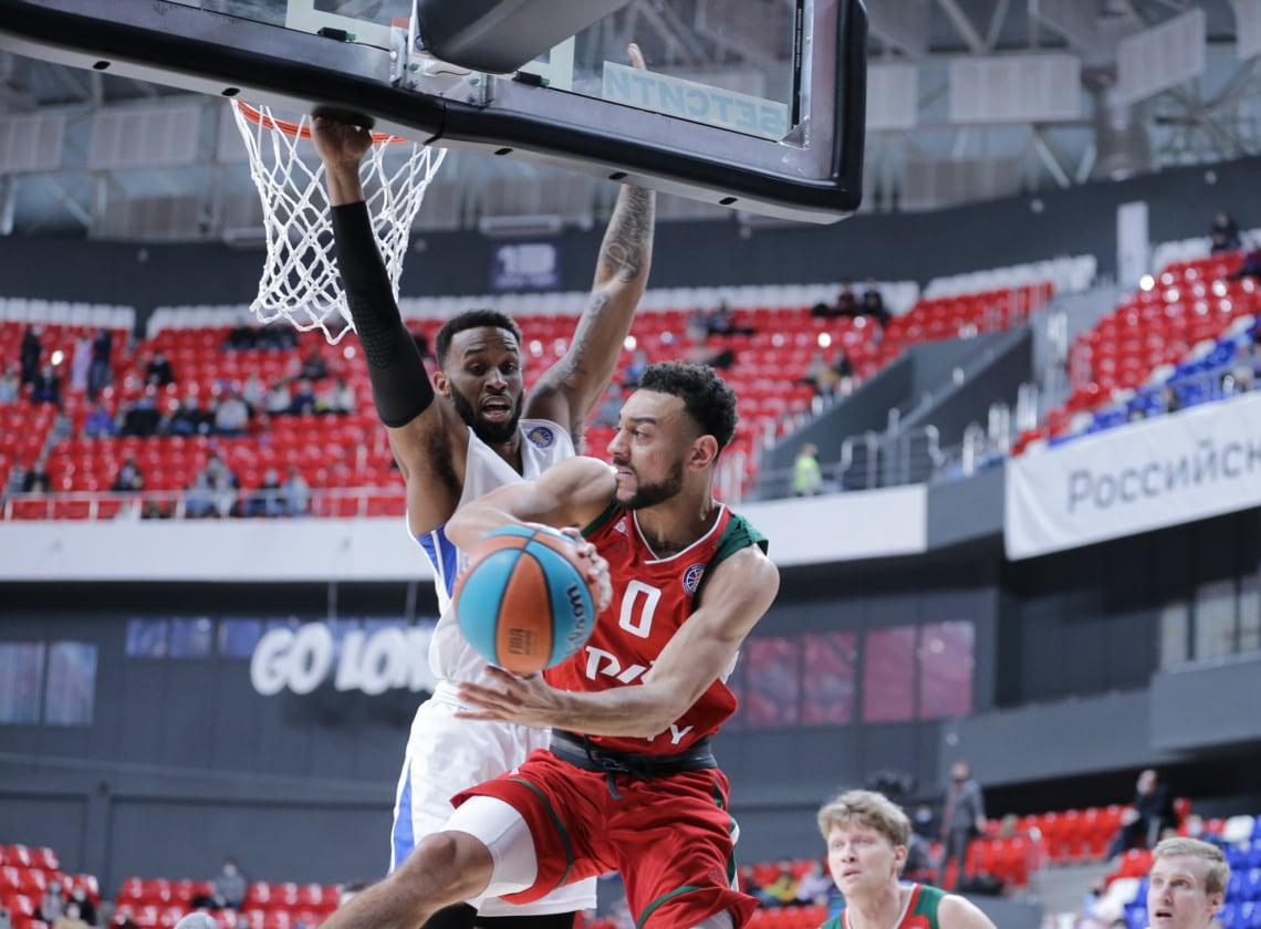 Nigel Williams-Goss in the symbolic five of the week of the VTB League