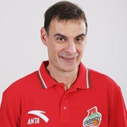 Георгиос Барцокас, главный тренер ПБК «Локомотив-Кубань»