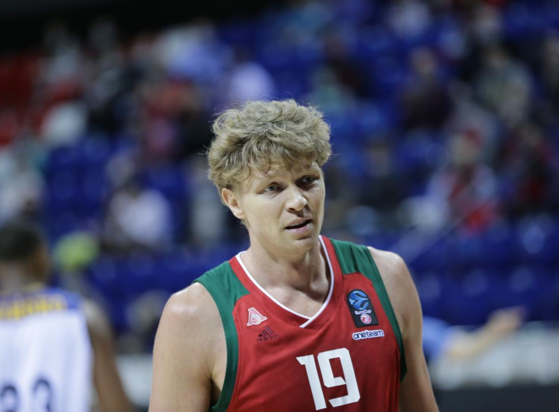 "Mindaugas Kuzminskas: ""Thanks to our fans for coming to support us"""