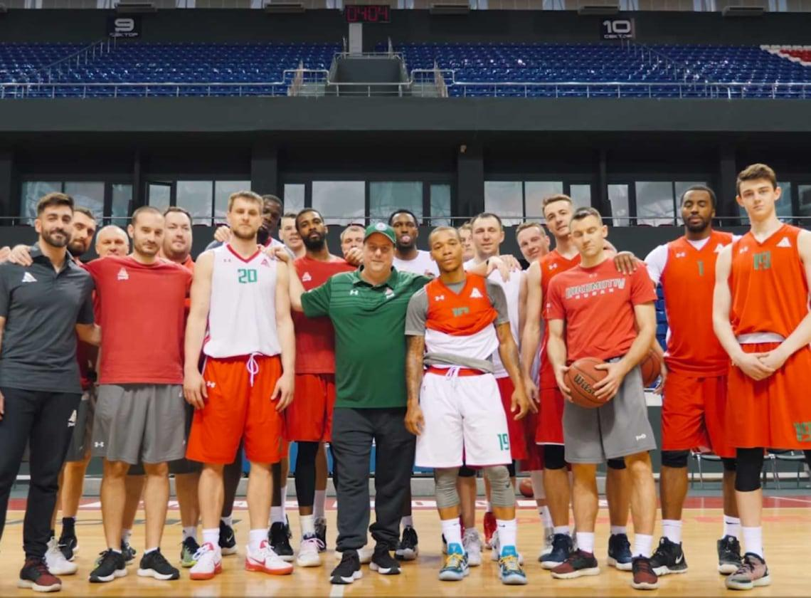 Team supports Dmitry Khvostov