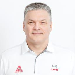 Evgeny Pashutin, head coach of PBC Lokomotiv Kuban