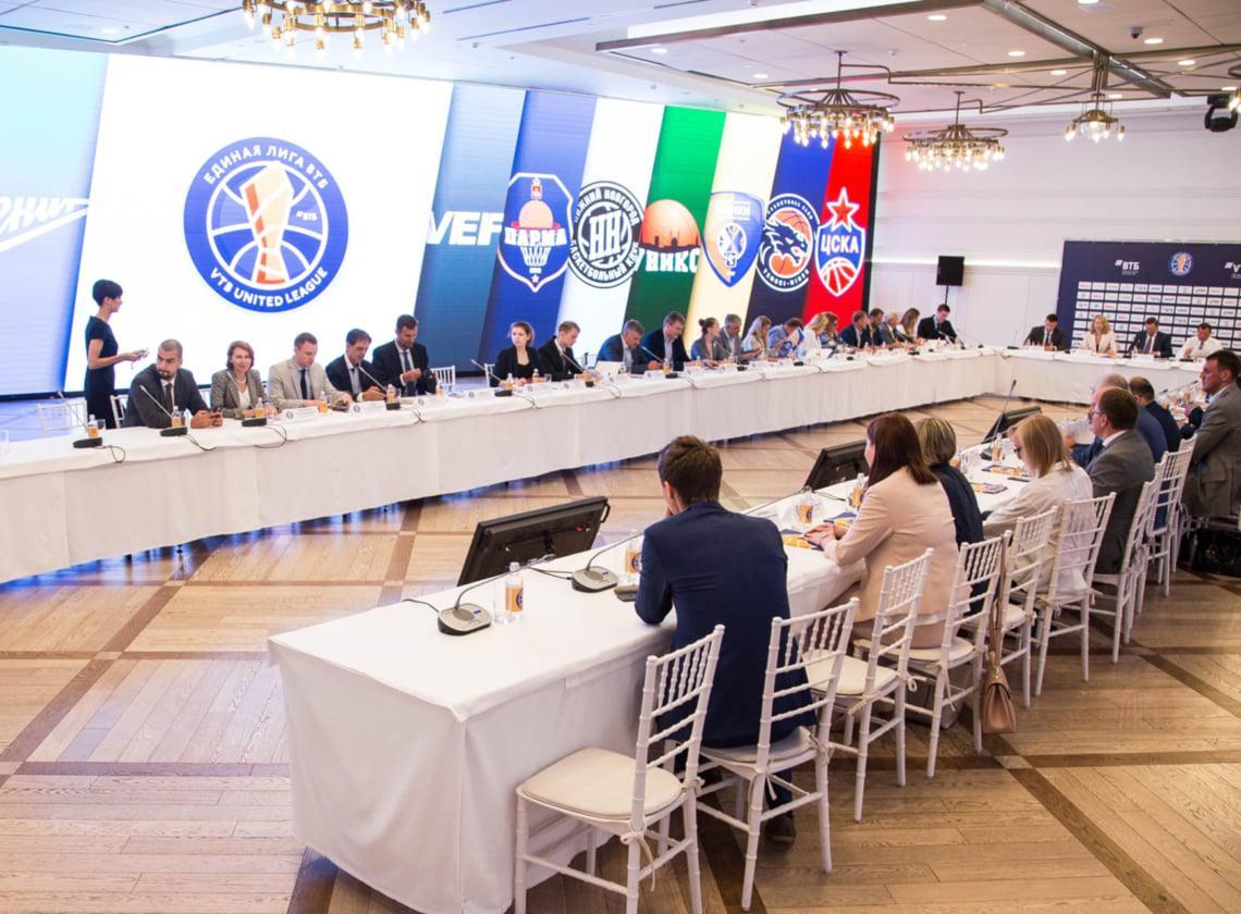 В Москве прошло заседание Совета Единой Лиги ВТБ
