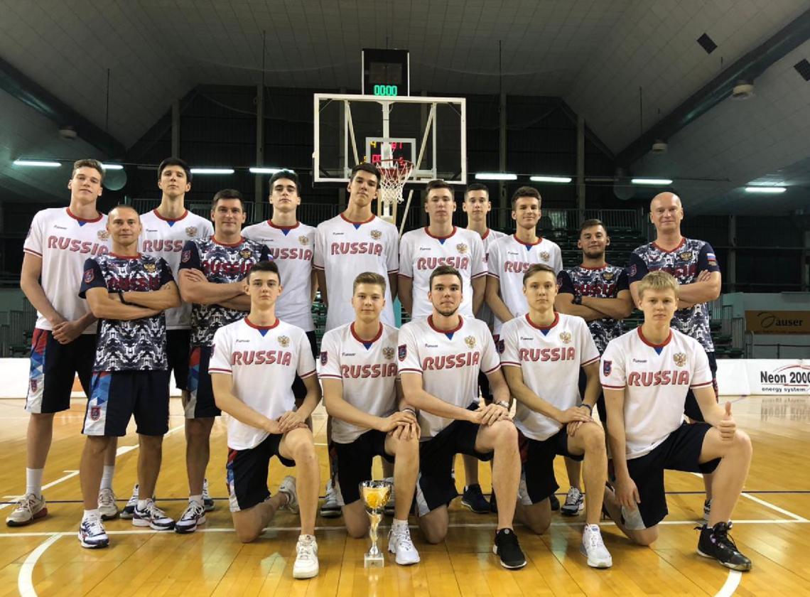 Сборная России «до 18 лет» одержала три победы из трех на турнире в Италии