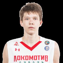 Захар Ведищев, форвард ПБК «Локомотив-Кубань»
