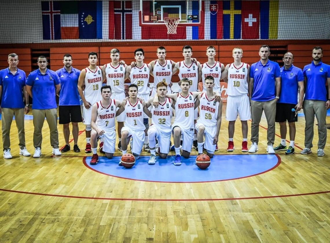Сборная U16 сыграет с Великобританией в плей-офф первенства Европы