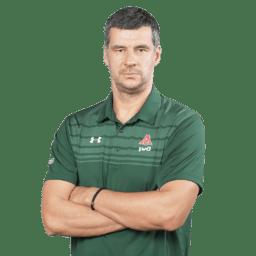 Влада Йованович, исполняющий обязанности главного тренера ПБК «Локомотив-Кубань»