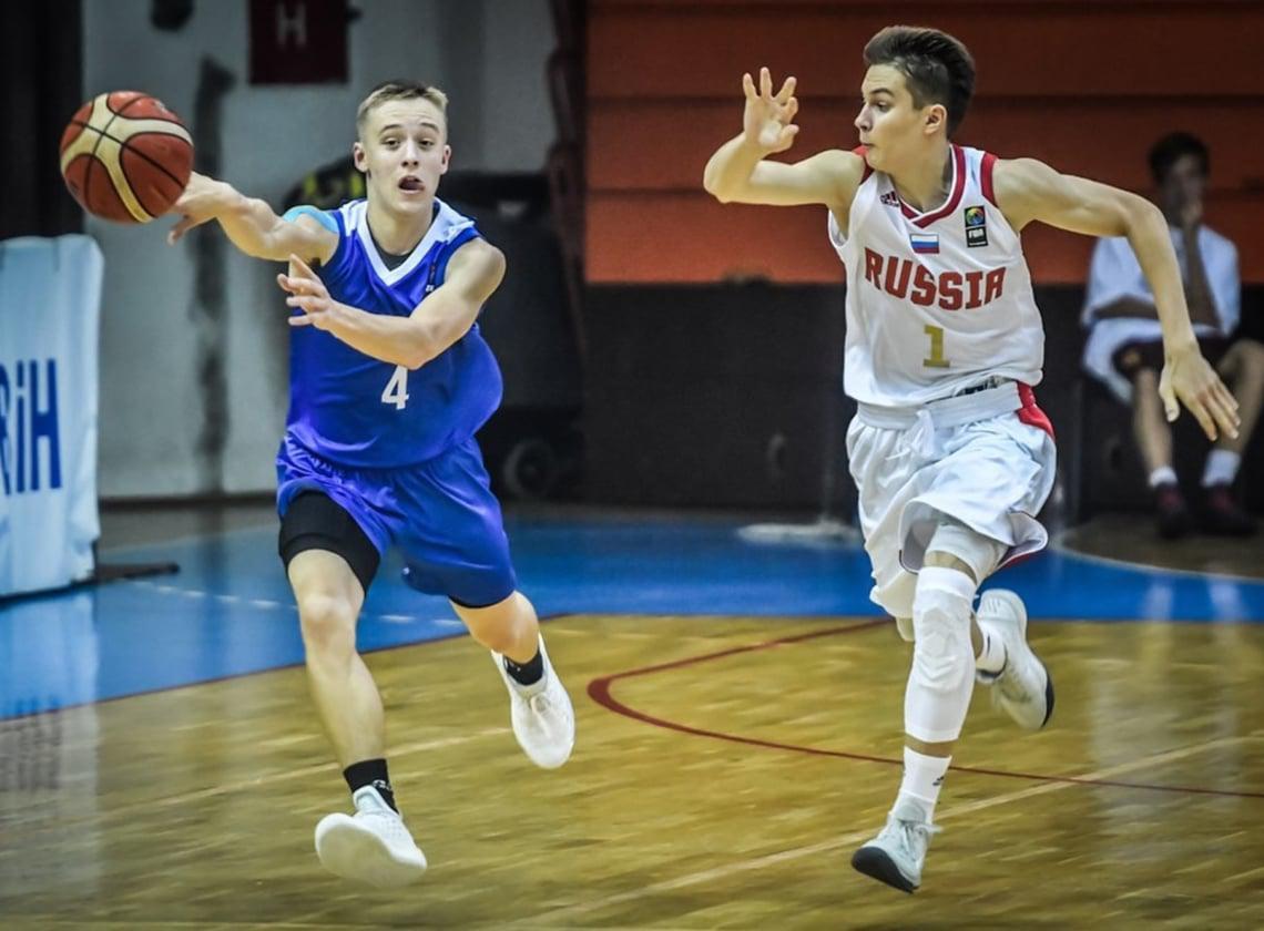 Сборная U16 вышла в полуфинал Первенства Европы