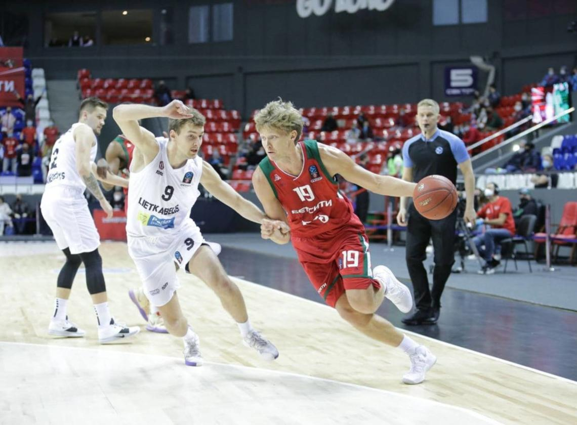 Mindaugas Kuzminskas: 'In the second half they used our relaxing'