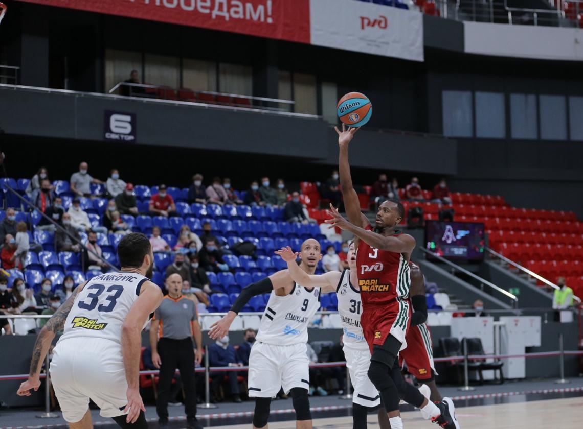 Errick McCollum sets a performance to push Lokomotiv-Kuban for the first win in the season